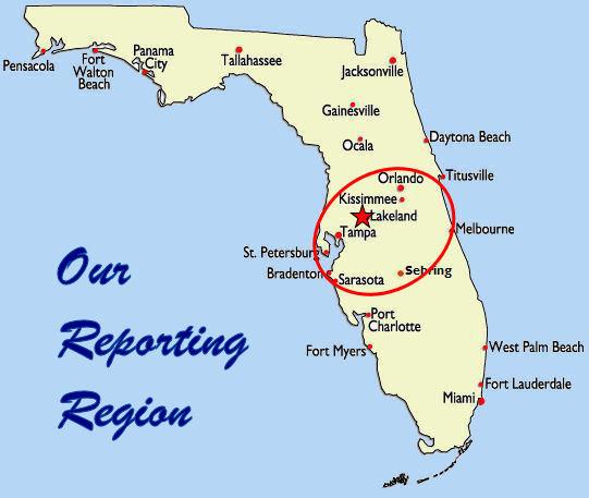 lakeland florida map of florida
